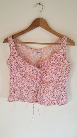 Blumen Crop-Top