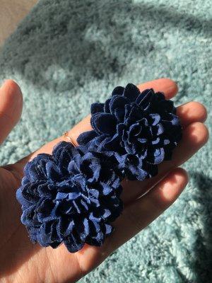 Barrette bleu-bleu foncé