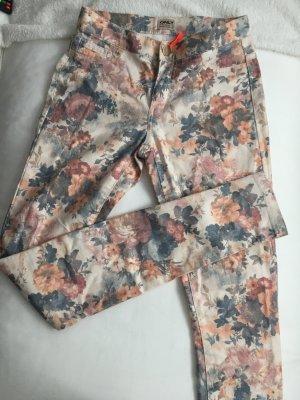 Blumen-Hose, ONLY, Stretch 34