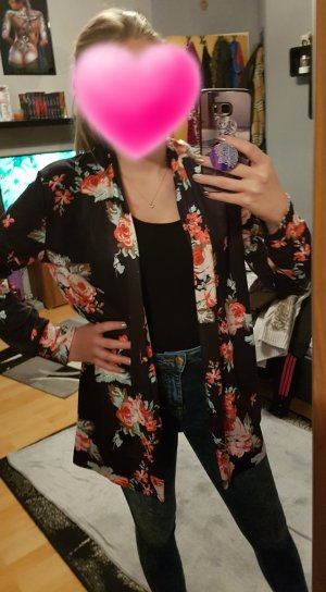 Blumen Jacke Größe M (38)