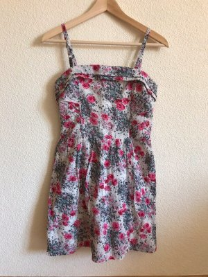 Blumen Kleid von Comptoir des Cotonniers Bandeaukleid wie neu Floral-Look