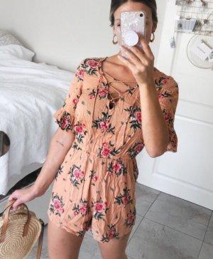 Blumen Print Jumpsuit