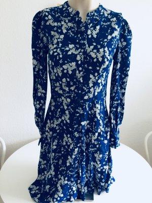 Blumen Print Kleid Premium