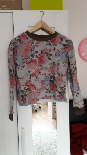 Blumen Pullover von Tally weijl Größe XS