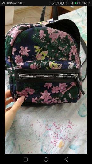 blumen rucksack