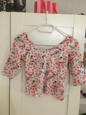 Blumen Shirt in Gr. XS