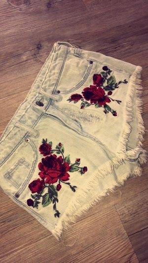 Blumen Shorts von H und M