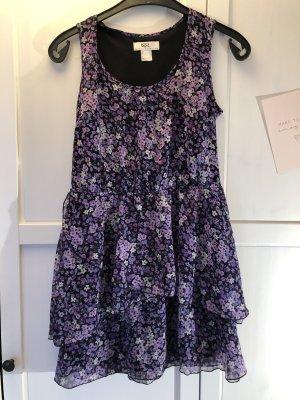 b.p.c. Bonprix Collection Beach Dress black-lilac