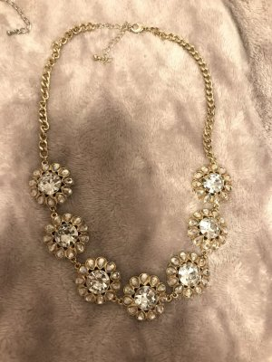 H&M Statement ketting wit-goud