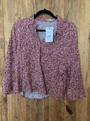 Pull & Bear Linnen blouse veelkleurig
