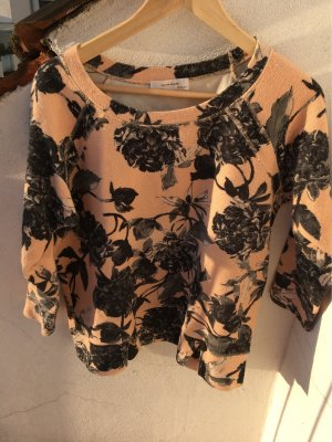 Zara Woman Jersey de manga corta multicolor