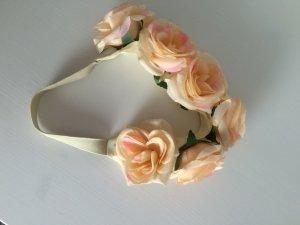 Blumenhaarband Peach