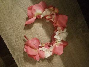 Diadeem lichtroze-roze