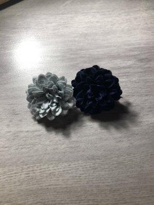 Blumenhaarschmuck als Spangen