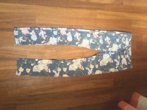 Blumenhose H&M 34 Blau