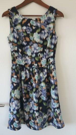 Benetton Mini-jurk veelkleurig Polyester