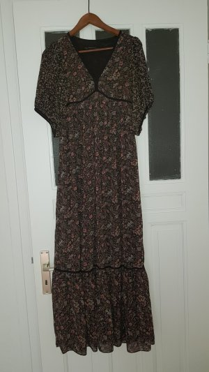 Zara Basic Robe longue multicolore