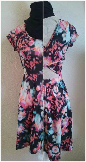 CoolCat A-lijn jurk veelkleurig