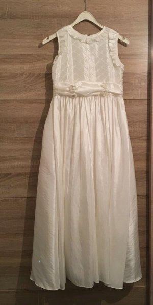 Lilly Vestido crema Seda