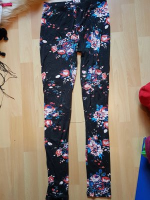 Blumenmuster Leggings