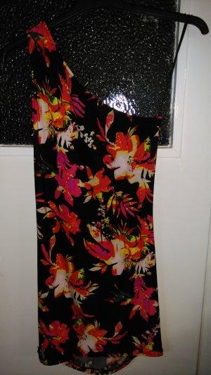 Amisu Robe de cocktail multicolore
