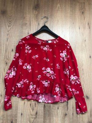 H&M Maglione oversize rosso