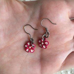 Accessorize Pendant d'oreille argenté-rose
