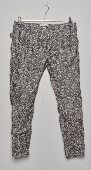 Isabel Marant Étoile Pantalon en velours côtelé brun