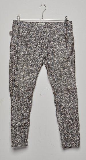 Isabel Marant Étoile Pantalon en velours côtelé brun coton