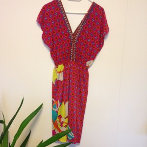 Blumenprint-Kleid in der Farbe Pink von Malvin