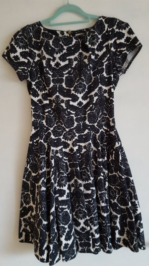 Closet Dress black-white mixture fibre