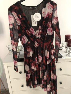Blumenprint Kleid NAKD