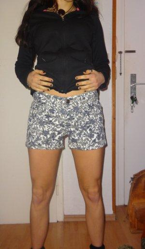 Esmara Hot Pants white-black cotton