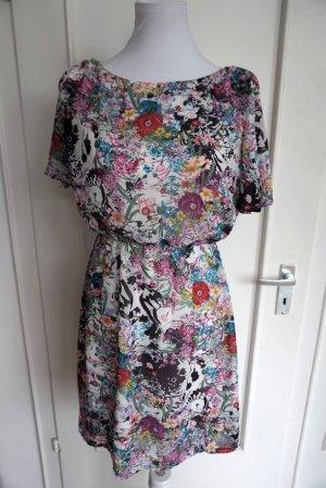 Blumenprint Sommerkleid in Gr. 34