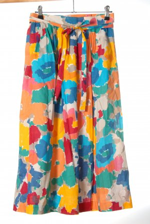 Mondi Jupe portefeuille multicolore polyester