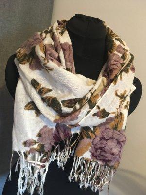 Pimkie Sjaal met franjes veelkleurig Polyester