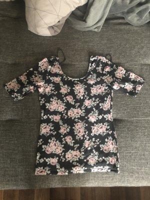 H&M T-shirt roze-antraciet