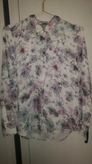 Blumige Bluse ganz neu