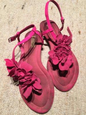 Buffalo Sandalias con talón descubierto rosa