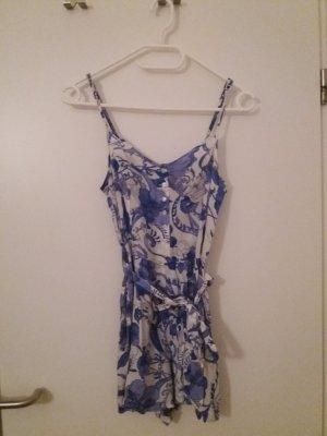 H&M Tuta bianco-blu