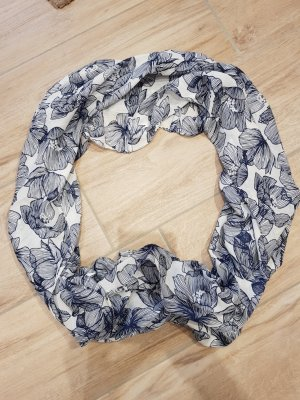 Orsay Snood white-steel blue polyester