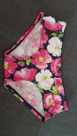 Blumiger Slip/Unterhose von Gilly Hicks in XS, ungetragen mit Etikett