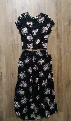 H&M Twin Set tipo suéter black-pink