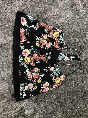 Bershka Mouwloze blouse zwart