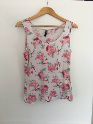 Blumiges Top