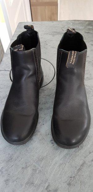 Botines Chelsea negro Cuero