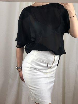 Transparent Blouse black