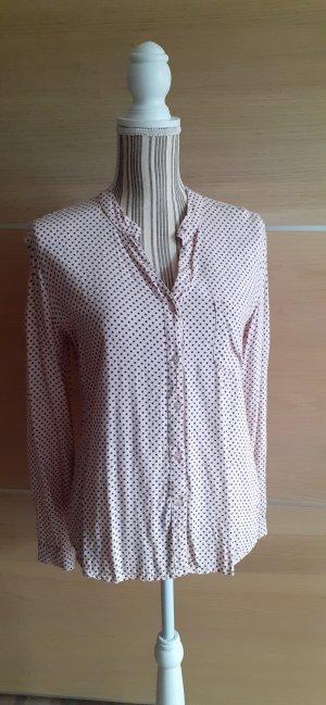 AJC Camicia blusa nero-rosa chiaro
