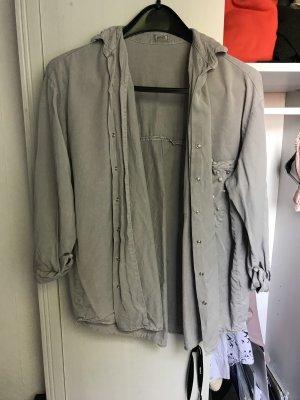 Pimkie Oversized blouse grijs