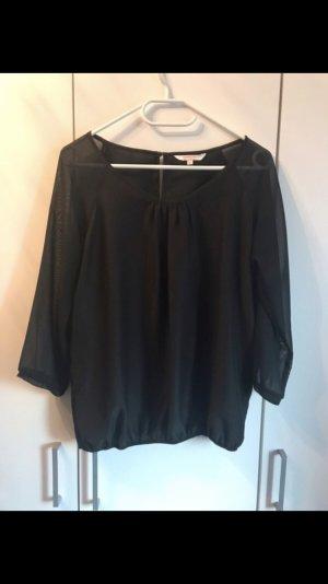 Clockhouse Silk Blouse black